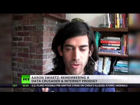 Online Robin Hood Aaron Swartz pushed to suicide by prosecutors?