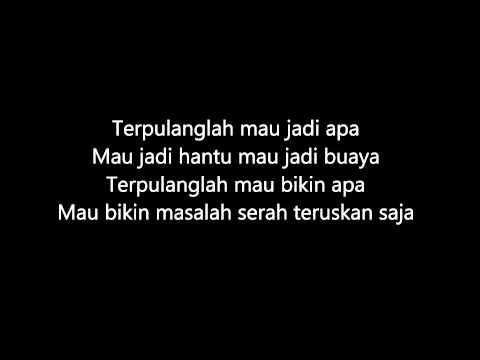 Nanasheme -  Hantu Atau Buaya Karaoke(Versi Gitar Akustik)