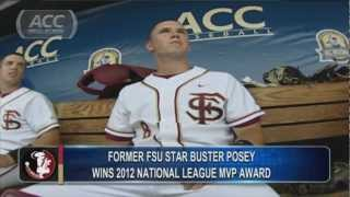 NL MVP Awarded To SF Giants And Former FSU Star Buster Posey