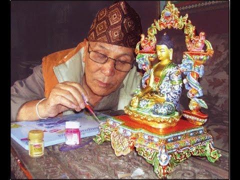 Bhim Shakya's interview Nepal Mandal (Newari) Nepali artist (Bhim Handicraft)