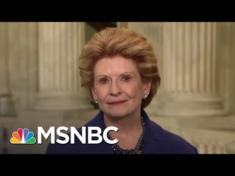 Sen. Stabenow: My Constituents 'Would Be Punished' If I Don't Work With Trump | MTP Daily | MSNBC