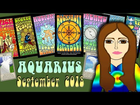 AQUARIUS SEPTEMBER 2018 Change of Fortune! Tarot psychic reading forecast predictions