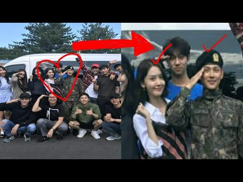 170918 Yoona Lim visit Siwan in Army/Military with TKL cast, but didn't get to meet Ji Chang Wook