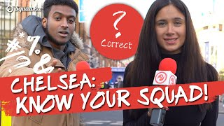 Know Your Squad Pulisic Chelsea fans quizzed