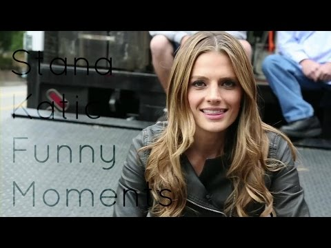 Stana Katic • Funny Moments