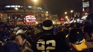 Cubs Win The World Series In Wrigleyville 7:40