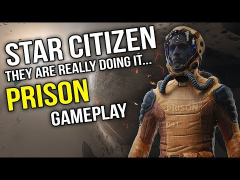 Star Citizen - Prison Gameplay.. The Game Inside The Game