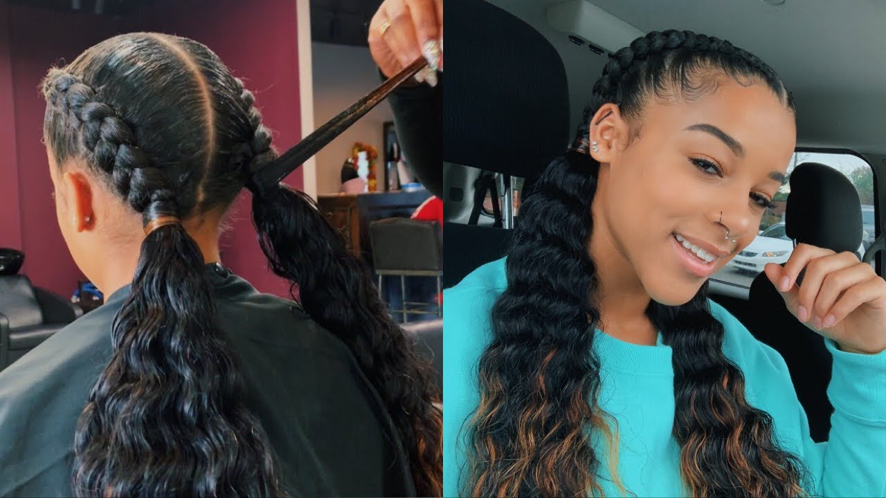 Watch Me Get Feed In Braids For The First Time