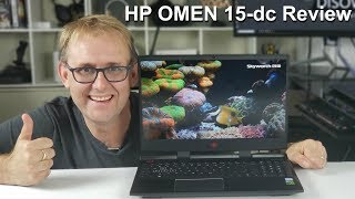 HP Omen 15-dc Review - Six Cores. Best GTX 1060 Laptop under $1000?
