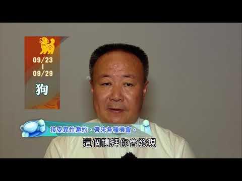 20190923--20190929 生肖運勢 雞 狗 豬