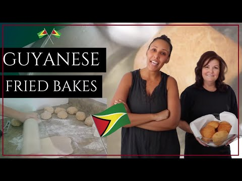 Making Guyanese Bakes / Floats With My Aunt