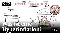 Was ist eine Hyperinflation? | NZZ-Finanzlexikon