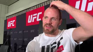 Gunnar Nelson Talks About Same Size Matchup Versus Burns
