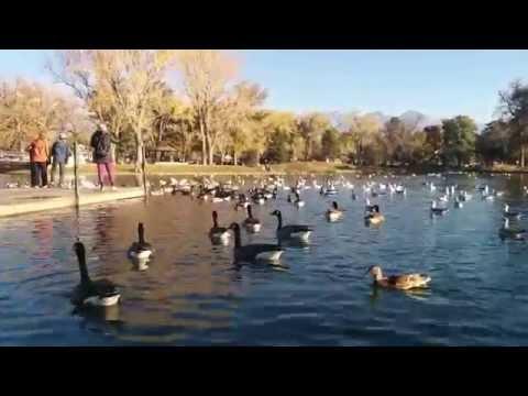 Beautiful Liberty Park in Salt Lake City