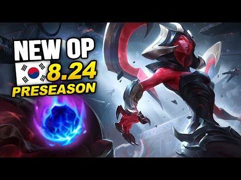 10 New OP Builds and Champs in Korea Patch 8.24 PRESEASON (League of Legends)