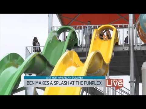 Ben Aaron Visits The Funplex East Hanover Splashplex