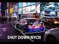 NFS M3 GTR SHUTS DOWN TIMES SQUARE!!!
