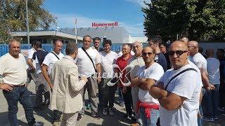 Vertenza Honeywell, sciopero a oltranza nella fabbrica dei turbo