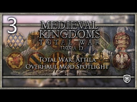 Damned OP Crossbowmen! | Medieval Kingdoms: Total War - 1295 A.D. #3 Finale - Attila Mod