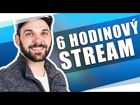 6 HODINOVÝ STREAM | Pedro a hromada hostů!
