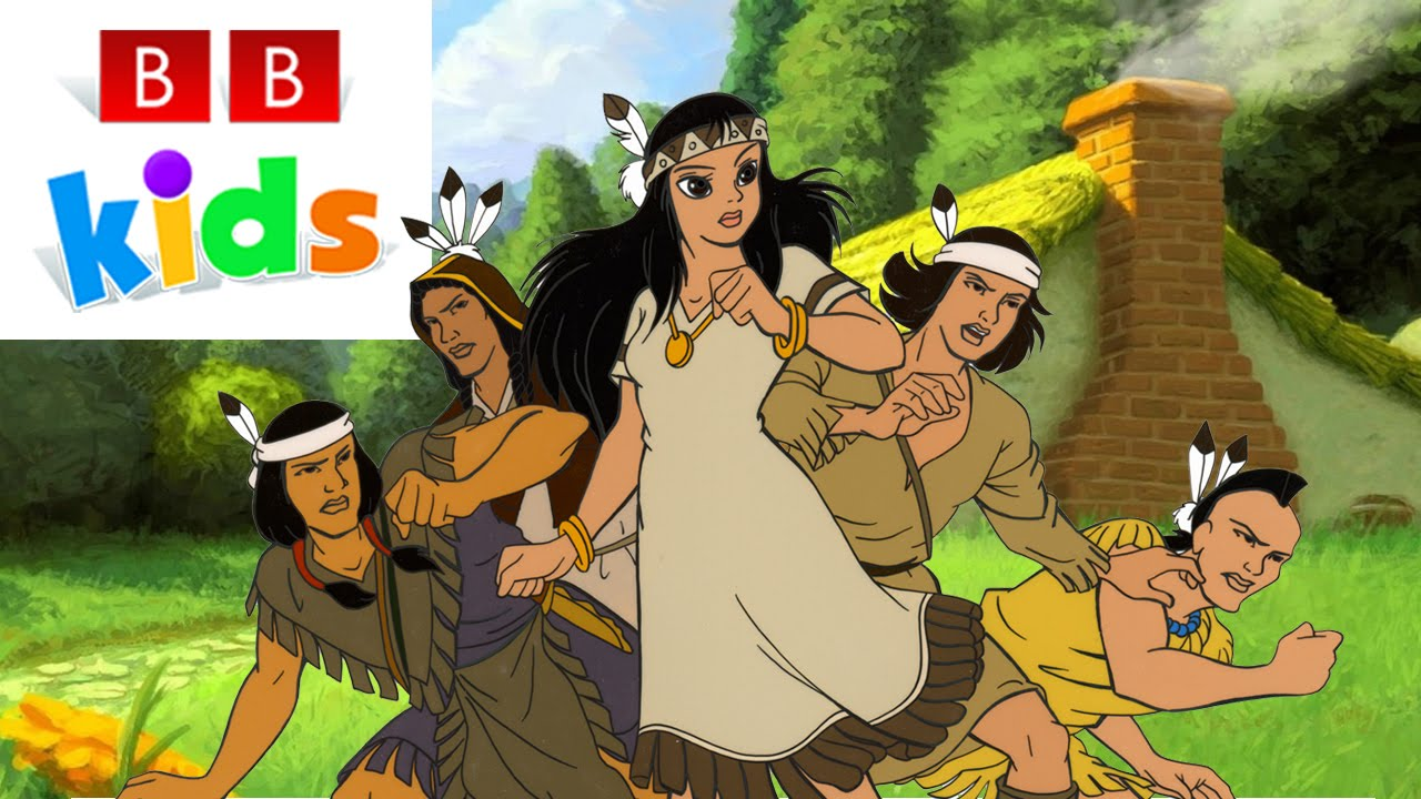 POCAHONTAS   The entire movie for children   In English ...
