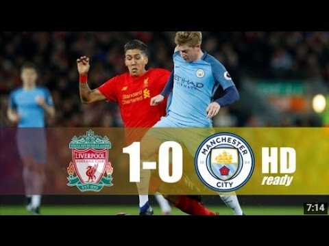 Liverpool Vs Manchester City (1-0) All Goals & Extended ...