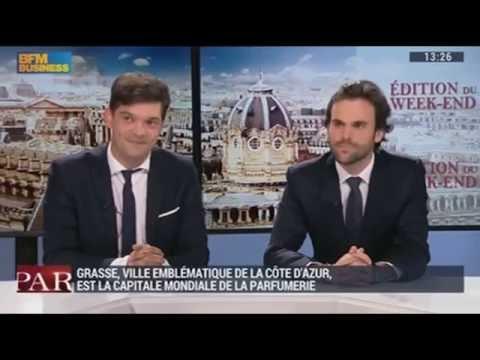 BFM TV Gros plan sur Grasse la capitale des parfums