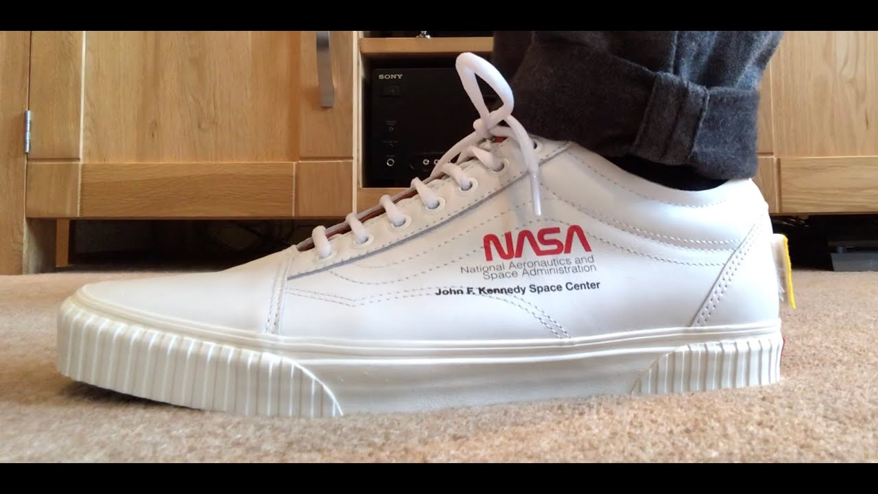 541d6d49ab93 NASA VANS X SPACE VOYAGER OLD SKOOL SHOES - YouTube
