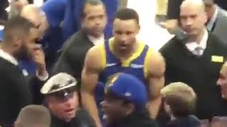 steph-curry-goes-into-stands-to-breakup-a-fight-between-a-warriors-fan-security-guard