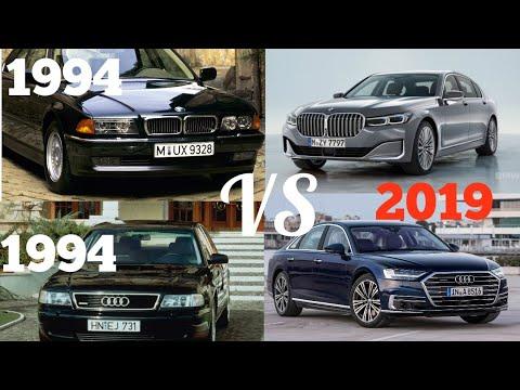 Audi A8 Vs BMW 7 Series - Evolution (1994 - 2019)
