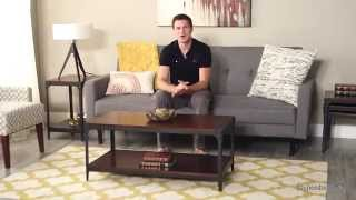 Belham Living Trenton Industrial Coffee Table - Product Review Video