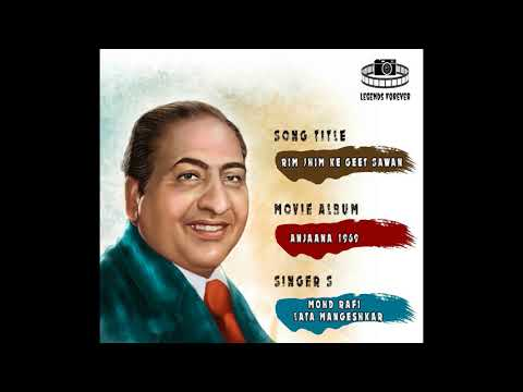 Rim Jhim Ke Geet Sawan Mohammad Rafi | Best Of Mohammad Rafi Hit Songs