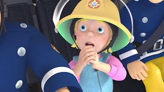 Fireman Sam US 🔥Sarah the Firefighter | Firetruck Rescue  🚒 Kids Movie