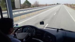 Neoplan Tourliner ile Kırklareli yolu