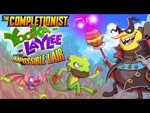 Yooka Laylee and The Impossible Lair is Impossible to Complete | The Completionist
