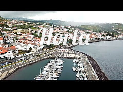 Horta- ISLAND HOPPING In The AZORES! .. EXPLORING the SAILING CAPITAL ⛵ (AZORES, PORTUGAL)