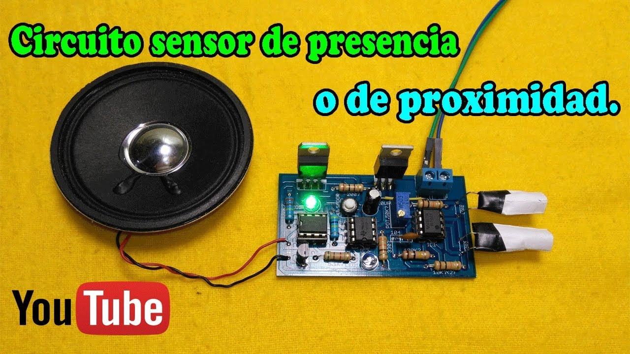 Circuito Sensor De Presencia O Proximidad Muy Fcil Youtube Luz Com Ldr Te1