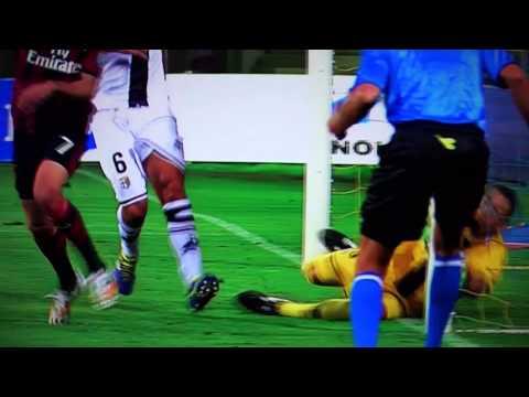 Parma - A.C. Milan 4-5 MONSTER GOL Jeremy Menez