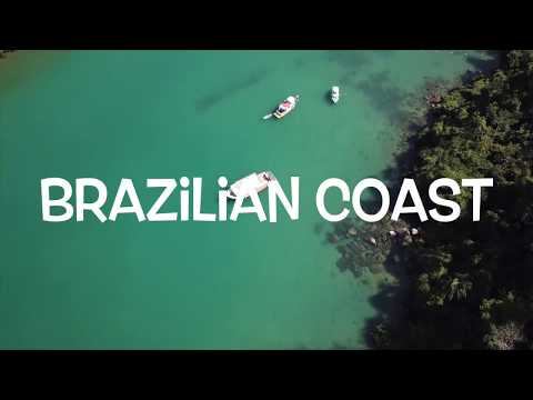Brazilian Coast aerial video - DJI Mavic Pro