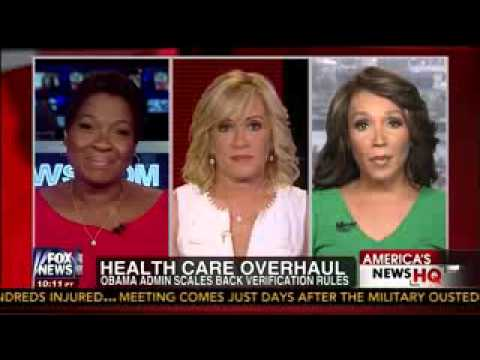 Smack Down Debate on Health Care Overhaul    McGlowan vs  Greene    Jamie Colby   Fox News    7 6 13