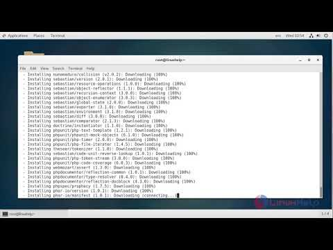 How to install Laravel 5 6 16 on CentOS 7 - YouTube