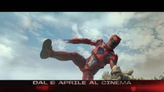 Power Rangers  SPOT 15 GO MIX- dal 6 Aprile al Cinema