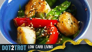 Stir Fry Scallops With Vegetables