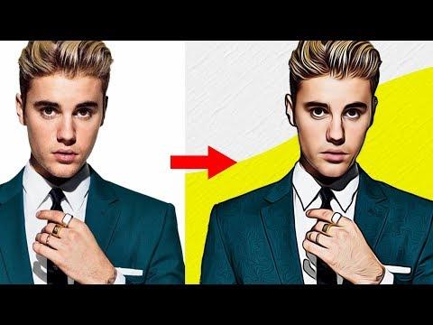 เปลี่ยนรูปคนเป็นรูปการ์ตูน ใน 1 นาที Photoshop