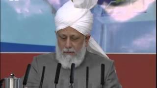 Majlis Ansarullah UK Ijtima 2012, Address by Hadhrat Mirza Masroor Ahmad, Islam Ahmadiyya