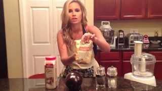 Eggplant Flatbread Pizza Recipe