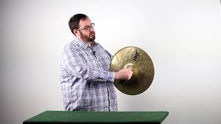 Crash Cymbal Demonstration Video: Grip, Three Crashes, and Muting