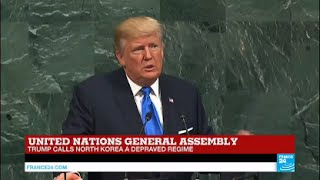 Donald Trump at The UN General Assembly: The Iran Deal is