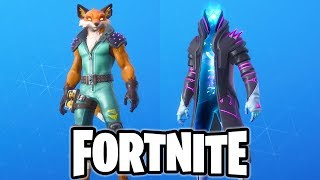 *NEW* FORTNITE ITEM SHOP FINNIX FOX SKIN AND INIFINITY