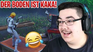 😂 DER BODEN IST KAKA feat. Gurke & Abu 💩 Fortnite Parkour Map